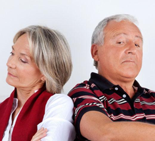 Help! Scheiden op latere leeftijd