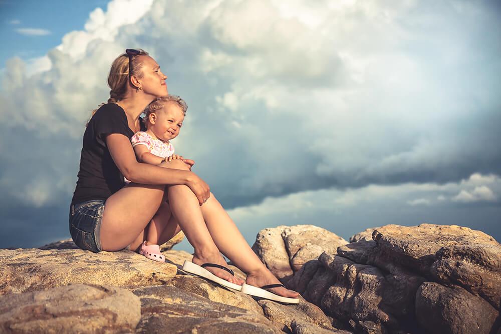 Steeds meer baby's geboren in eenoudergezinnen